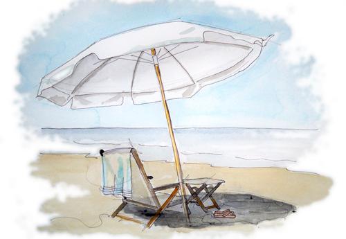 Beach chair dr