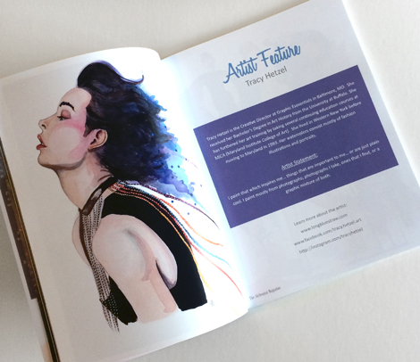 alchemist magazine artist feature tracy hetzel