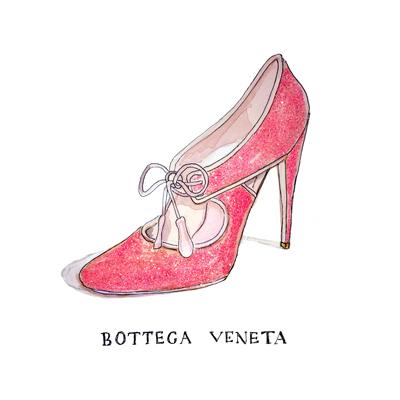 bottega veneta shoes by tracy hetzel