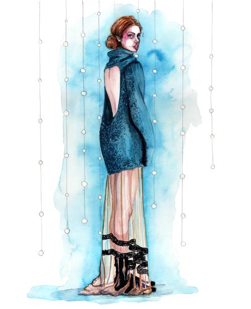 watercolor illustration by tracy hetzel