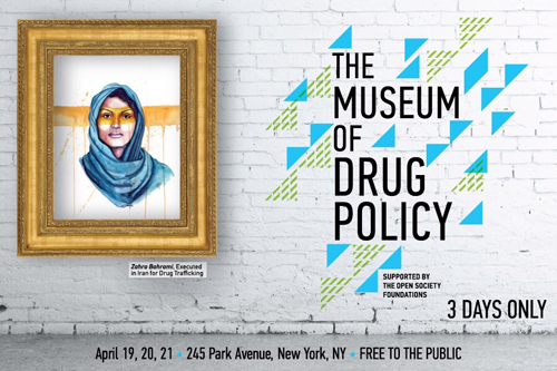 Museum of Drug Policy portraits by Tracy Hetzel
