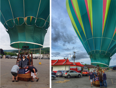 the great wellsville balloon rally