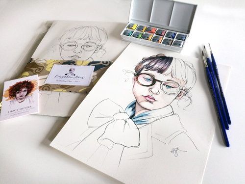 watercolor pages